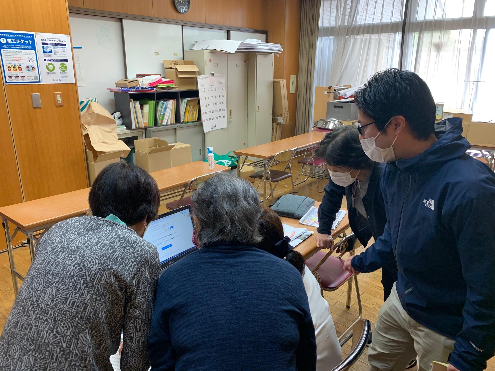 京都市下京区社会福祉協議会様でZOOM講座を行いました。